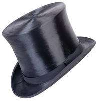 Silk top hat